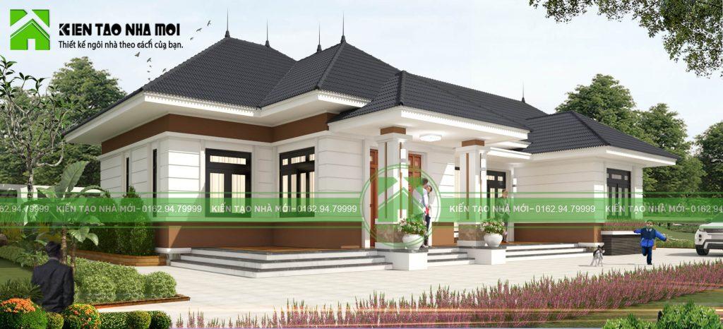 thiết kế Biệt Thự 1 tầng tại Thái Nguyên THIẾT KẾ BIỆT THỰ VƯỜN 1 TẦNG HIỆN ĐẠI ĐẸP TẠI SÔNG CÔNG, THÁI NGUYÊN 2 1550474330