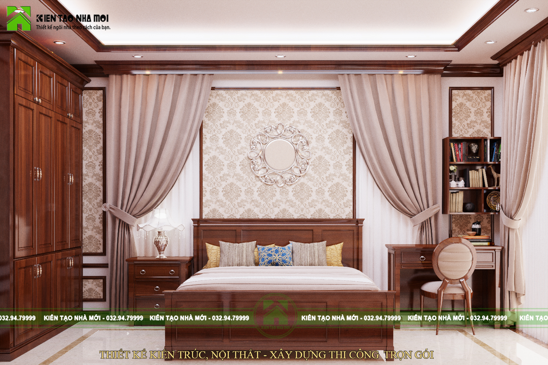 thiết kế nội thất Biệt Thự tại Nghệ An THIẾT KẾ NỘI THẤT TÂN CỔ ĐIỂN ĐẸP, SANG TRỌNG, ĐẲNG CẤP TẠI NGHỆ AN 11 1565576592