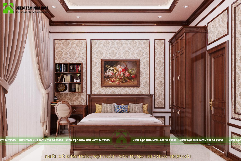 thiết kế nội thất Biệt Thự tại Nghệ An THIẾT KẾ NỘI THẤT TÂN CỔ ĐIỂN ĐẸP, SANG TRỌNG, ĐẲNG CẤP TẠI NGHỆ AN 9 1565576592