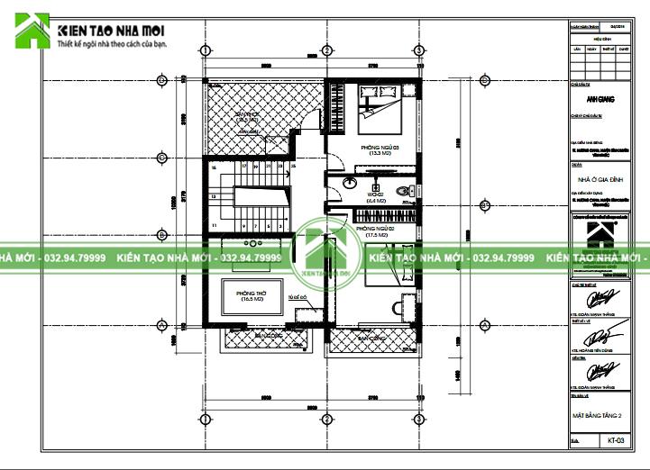 thiết kế nội thất Biệt Thự tại Vĩnh Phúc THIẾT KẾ BIỆT THỰ HIỆN ĐẠI, TRẺ TRUNG TẠI VĨNH PHÚC  6 1550472767