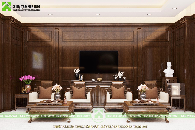 thiết kế nội thất Văn Phòng tại Hà Nội THIẾT KẾ NỘI THẤT PHÒNG LÀM VIỆC CHO CHỦ TỊCH SANG TRỌNG, ẤN TƯỢNG TẠI HÀ NỘI NT1844 2 1564370904