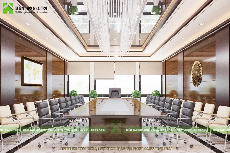thiết kế nội thất Văn Phòng tại Hà Nội THIẾT KẾ NỘI THẤT PHÒNG LÀM VIỆC CHO CHỦ TỊCH SANG TRỌNG, ẤN TƯỢNG TẠI HÀ NỘI NT1844 4 1564370905
