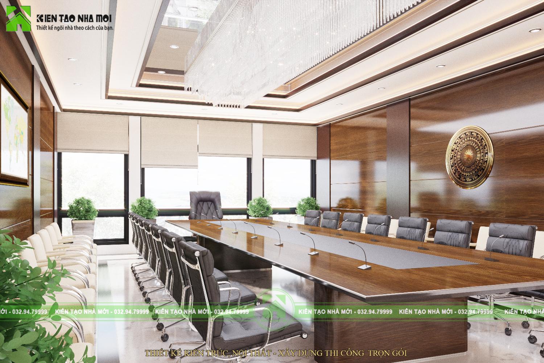 thiết kế nội thất Văn Phòng tại Hà Nội THIẾT KẾ NỘI THẤT PHÒNG LÀM VIỆC CHO CHỦ TỊCH SANG TRỌNG, ẤN TƯỢNG TẠI HÀ NỘI NT1844 5 1564370905