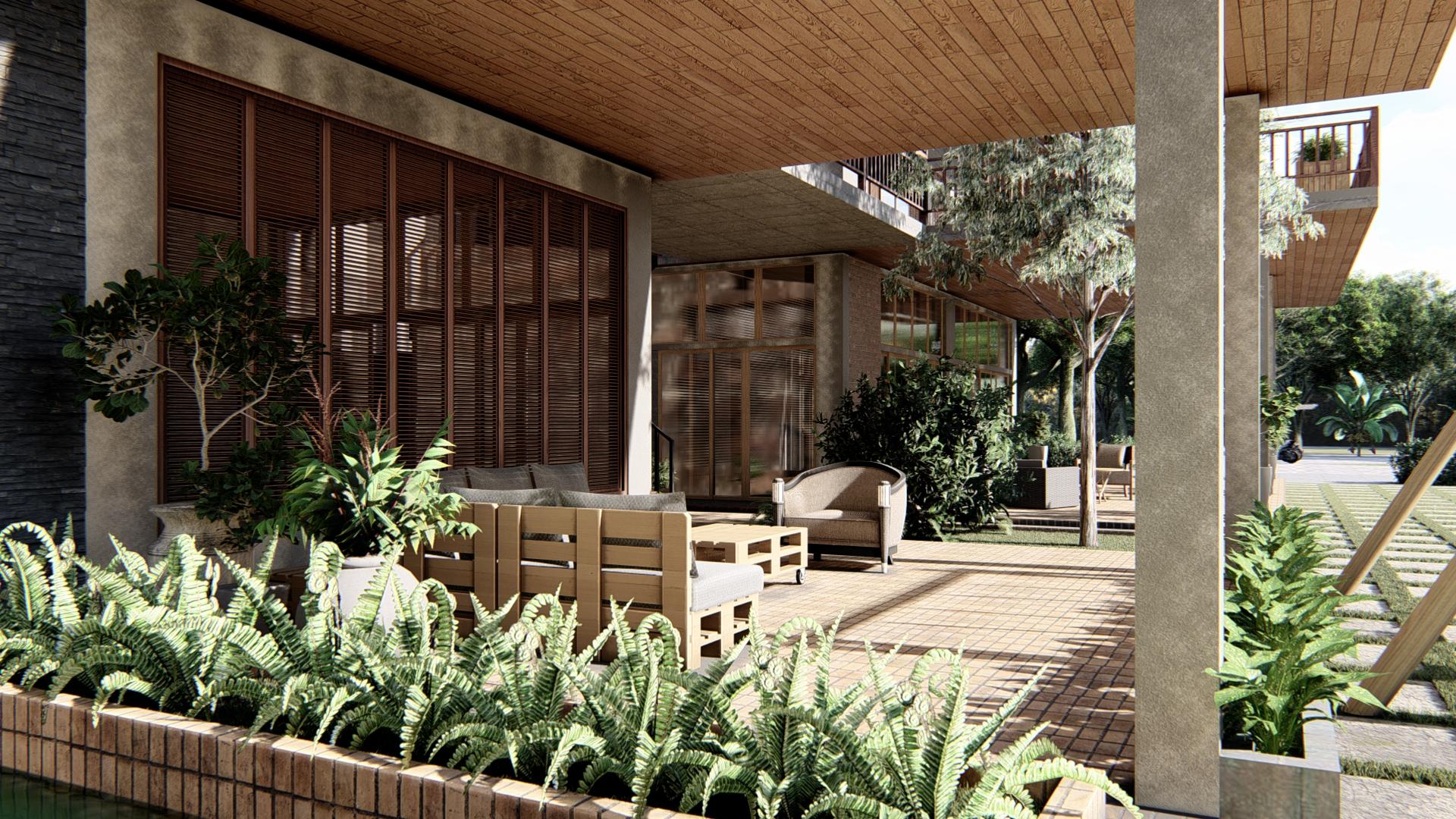 thiết kế Khách Sạn tại Gia Lai Farmstay and Hostel 2 1565695258