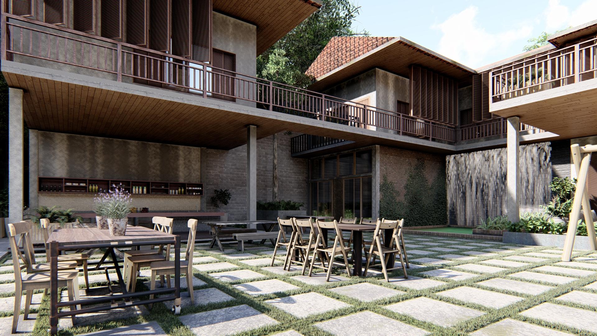thiết kế Khách Sạn tại Gia Lai Farmstay and Hostel 3 1565695258