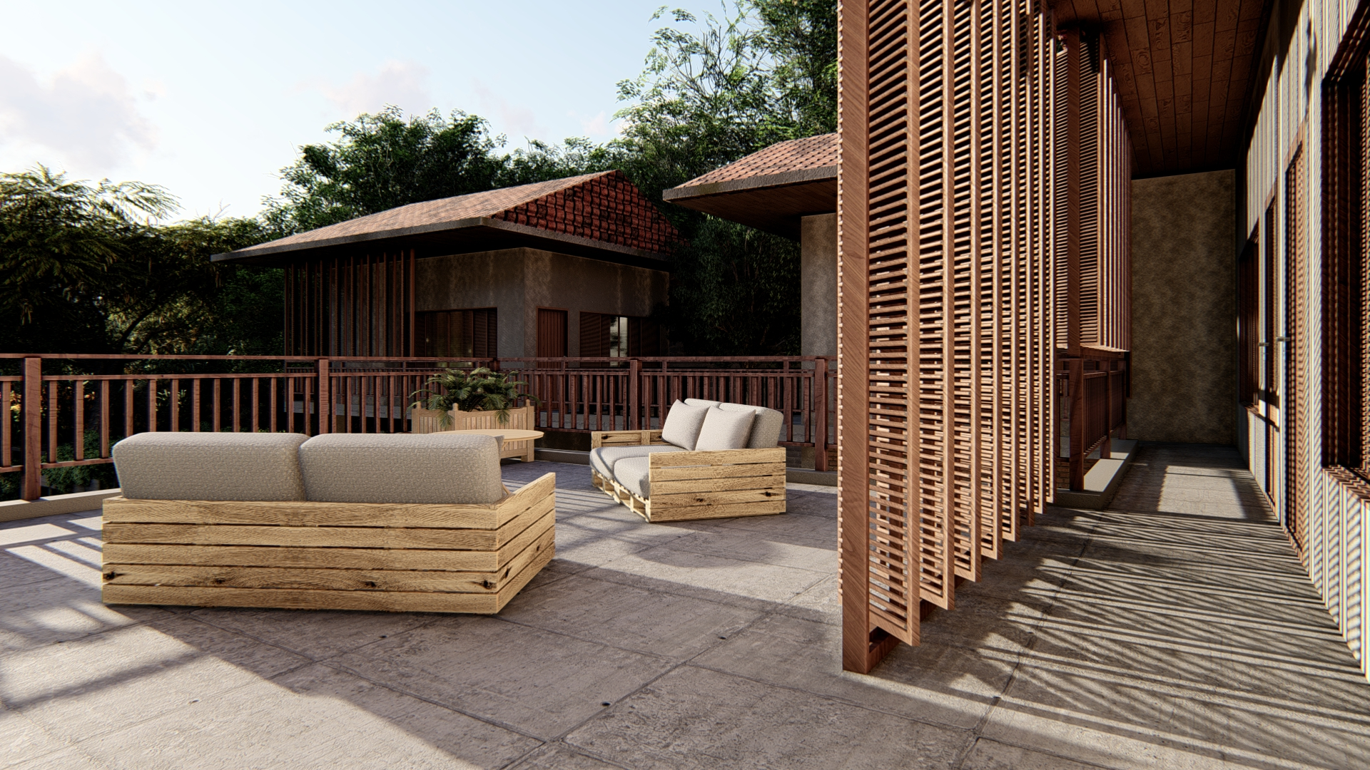 thiết kế Khách Sạn tại Gia Lai Farmstay and Hostel 7 1565695260