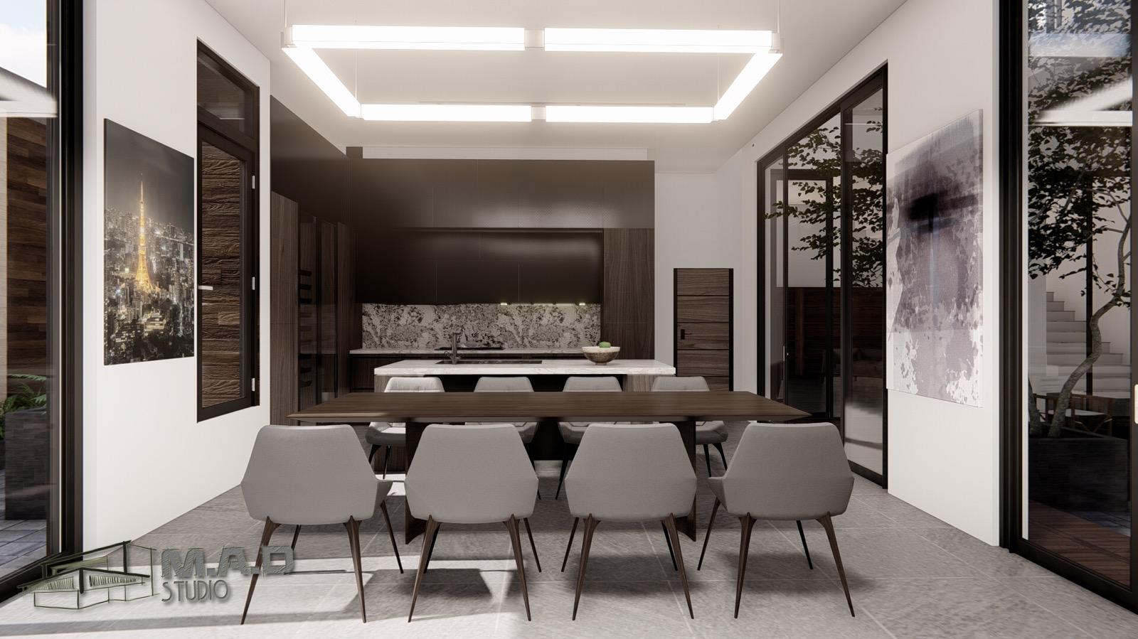 thiết kế nội thất Biệt Thự tại Gia Lai Modern villa 4 1565933996