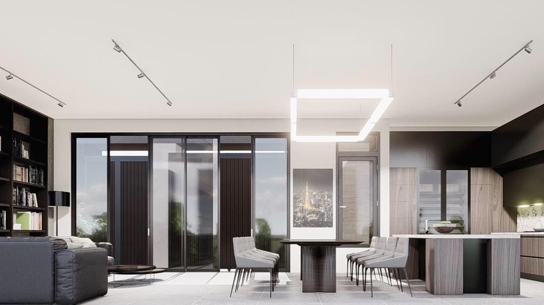 thiết kế nội thất Biệt Thự tại Gia Lai Modern villa 5 1565933996