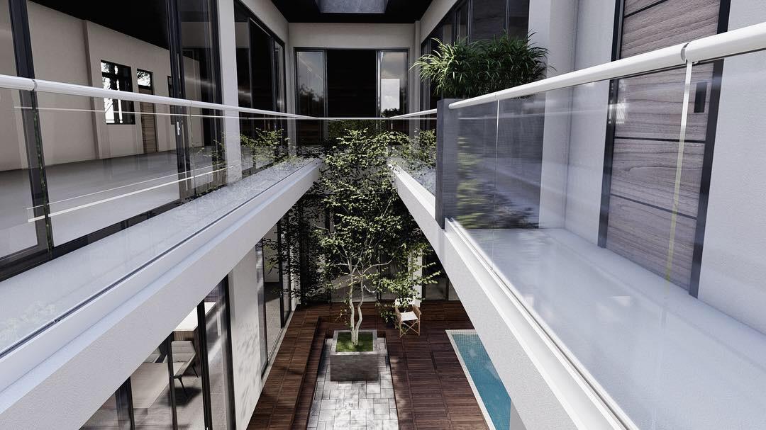 thiết kế nội thất Biệt Thự tại Gia Lai Modern villa 6 1565933997