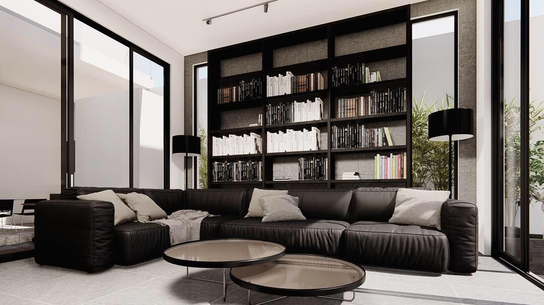 thiết kế nội thất Biệt Thự tại Gia Lai Modern villa 7 1565933997