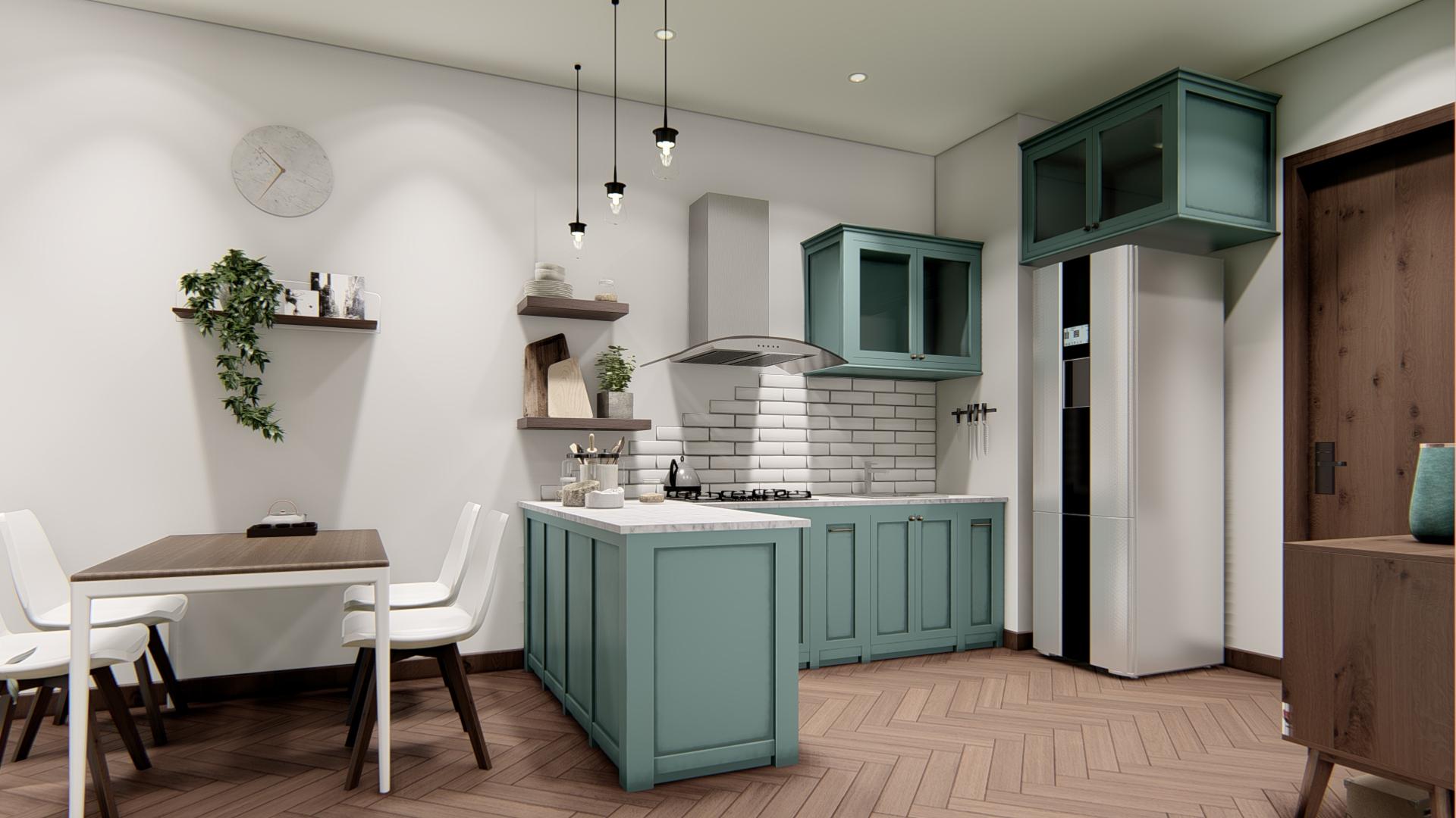 thiết kế nội thất chung cư tại Hồ Chí Minh Căn hộ Hà Đô Centrosa 2 1565695032