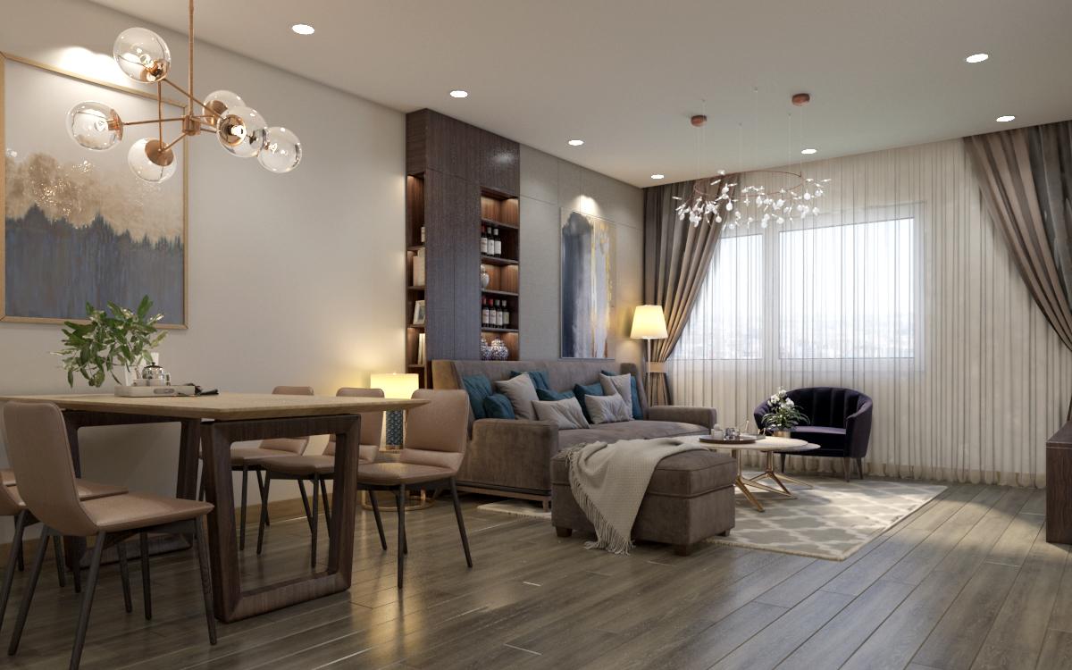 thiết kế nội thất chung cư tại Hà Nội Chung cư 622 Minh Khai 0 1567579138