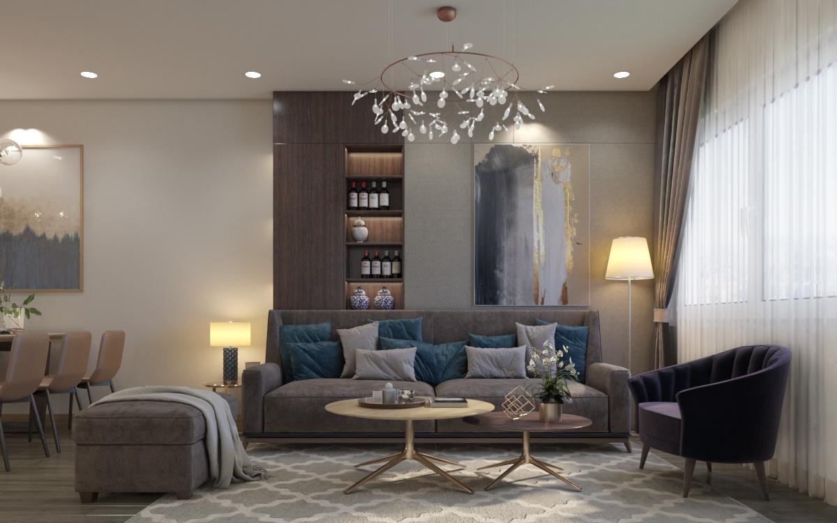 thiết kế nội thất chung cư tại Hà Nội Chung cư 622 Minh Khai 10 1567579139