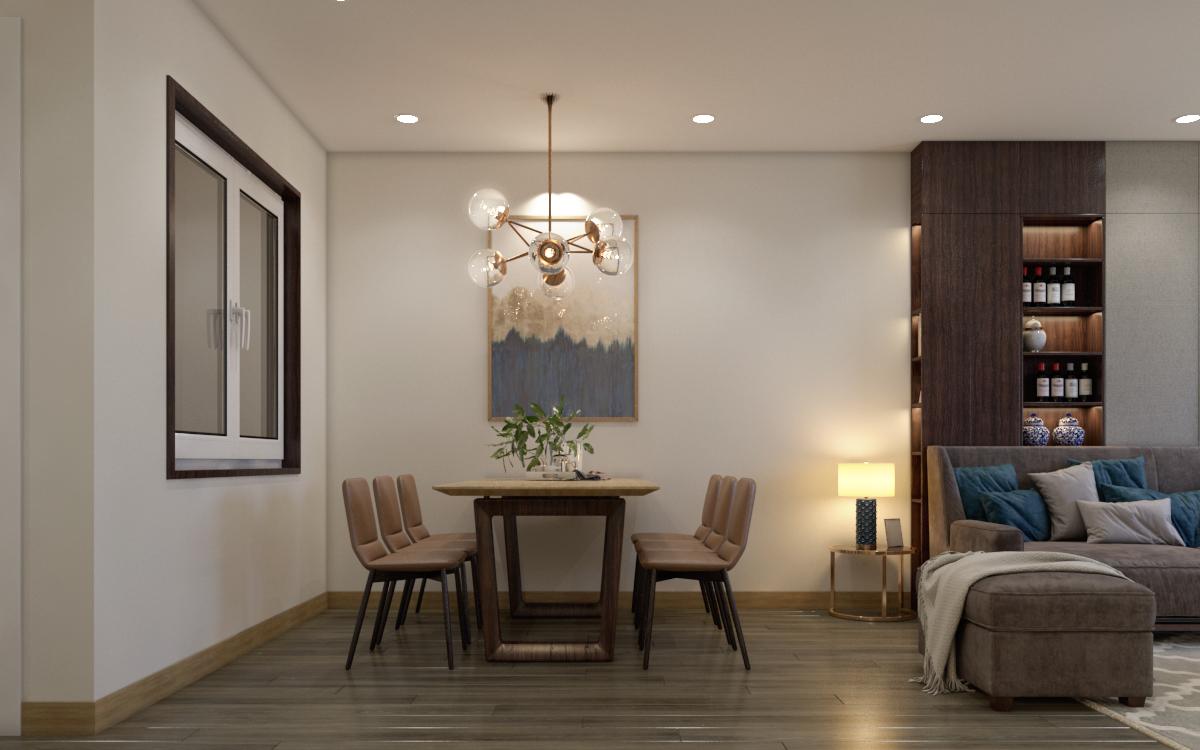 thiết kế nội thất chung cư tại Hà Nội Chung cư 622 Minh Khai 1 1567579137
