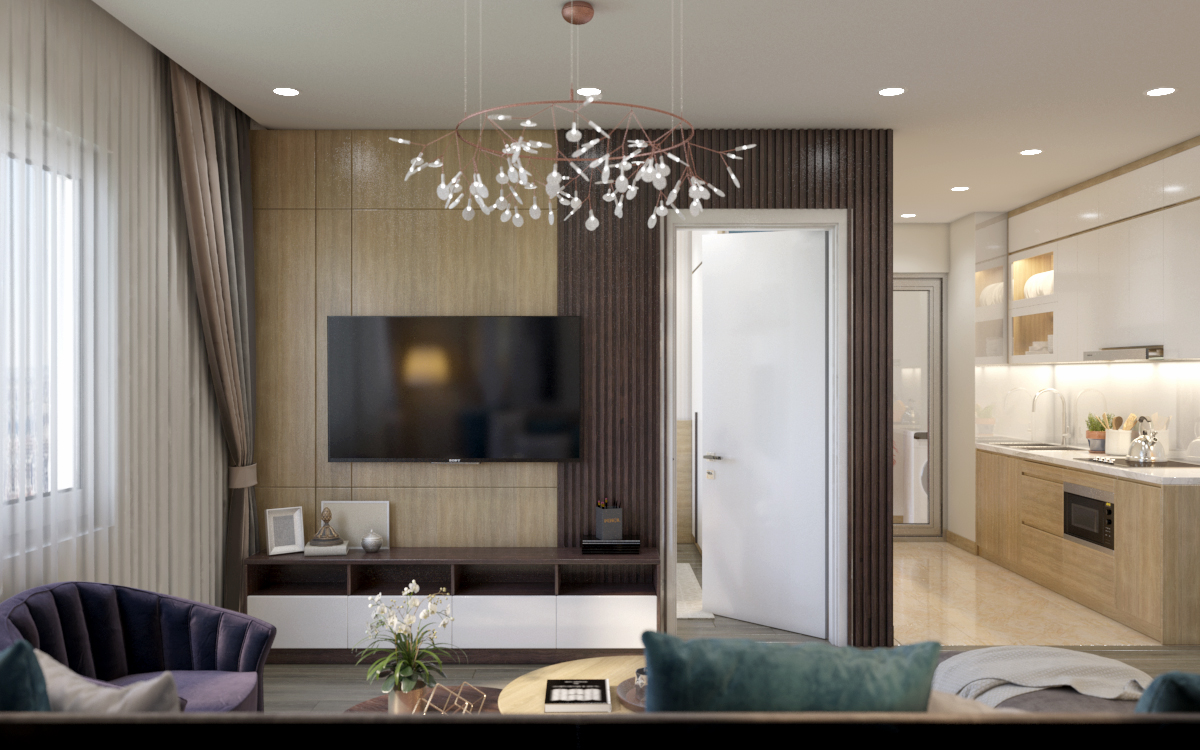 thiết kế nội thất chung cư tại Hà Nội Chung cư 622 Minh Khai 2 1567579138