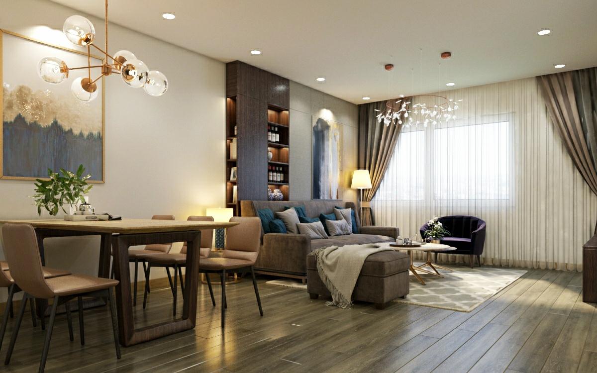thiết kế nội thất chung cư tại Hà Nội Chung cư 622 Minh Khai 4 1567579137