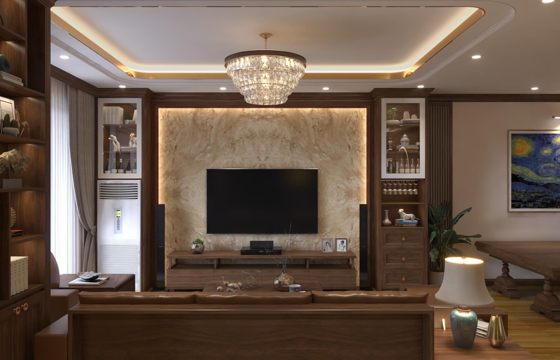 Thiết kế nội thất Chung Cư tại Hà Nội Chung cư Nguyễn Chánh 1630592346 3
