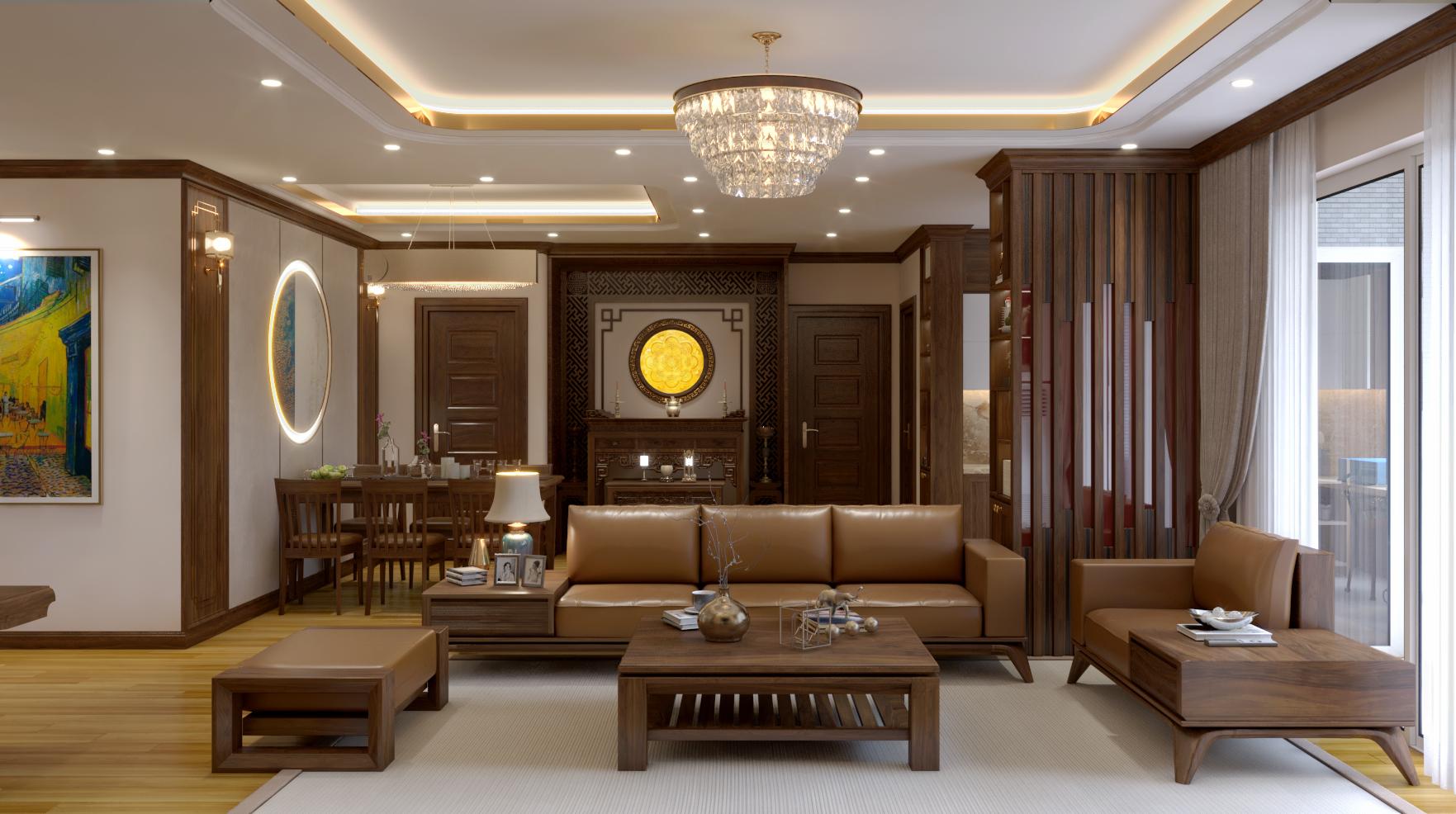 Thiết kế nội thất Chung Cư tại Hà Nội Chung cư Nguyễn Chánh 1630592346 6