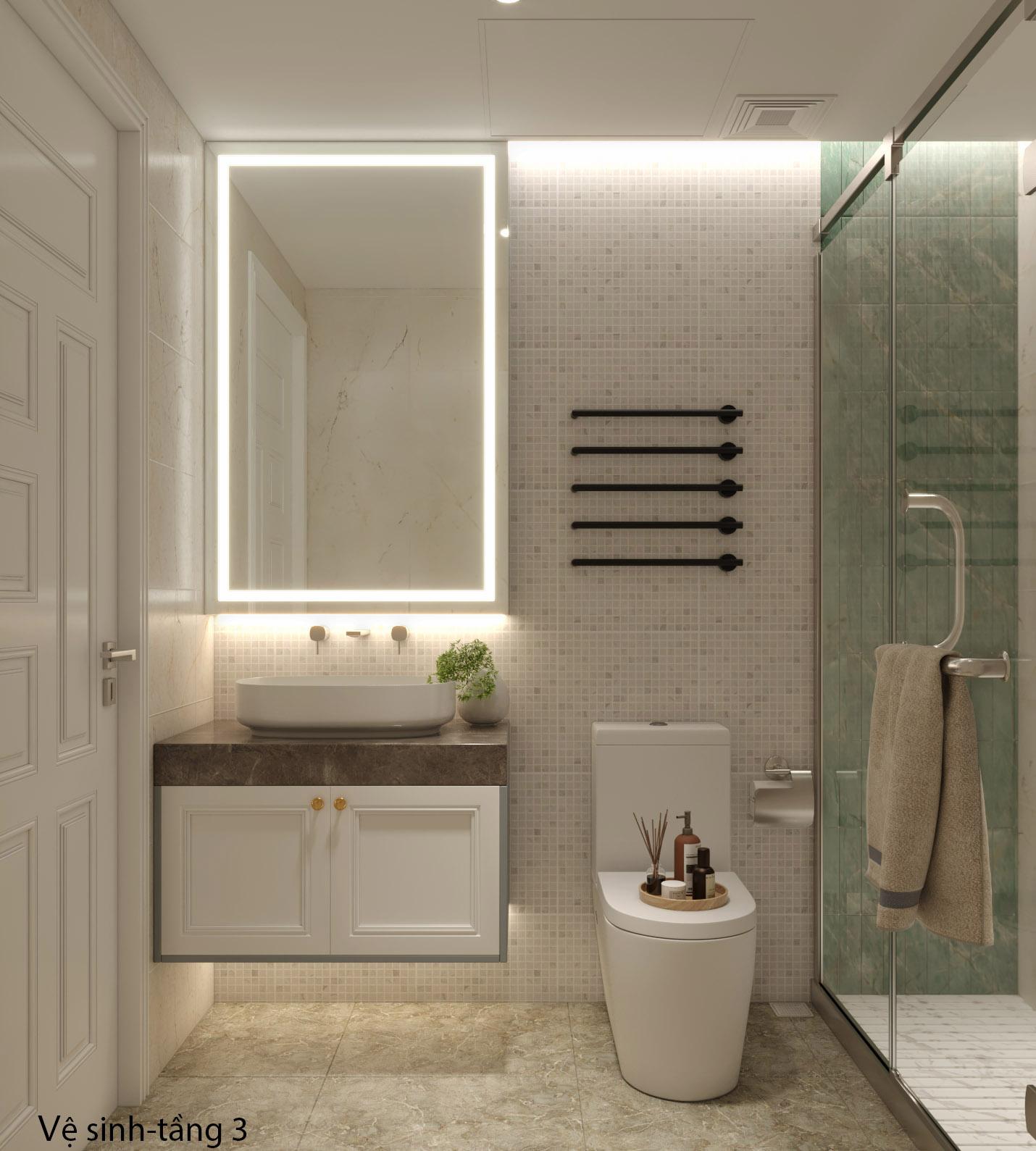 Thiết kế nội thất Nhà Mặt Phố tại Hà Nội Nhà phố Kim Giang 1630573748 0