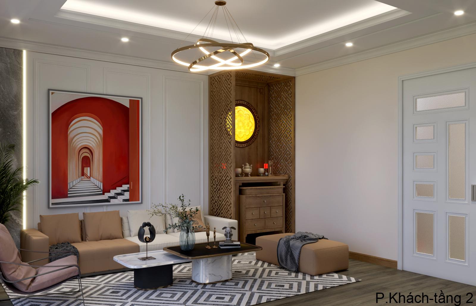 Thiết kế nội thất Nhà Mặt Phố tại Hà Nội Nhà phố Kim Giang 1630573750 3