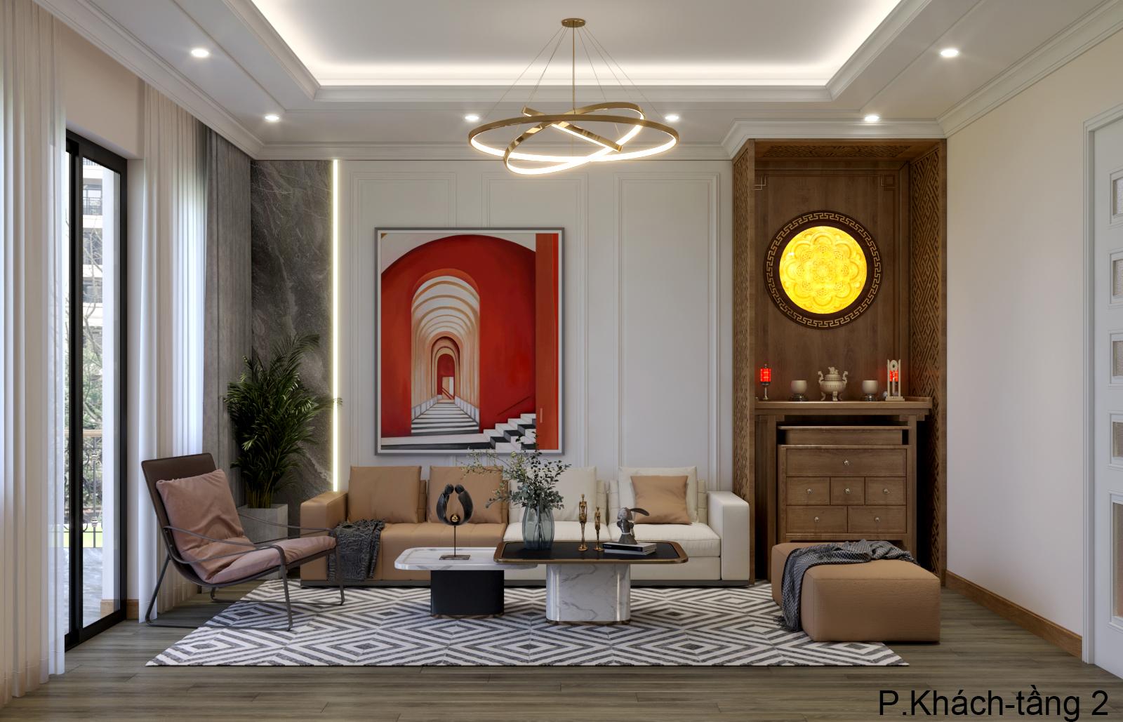 Thiết kế nội thất Nhà Mặt Phố tại Hà Nội Nhà phố Kim Giang 1630573751 1
