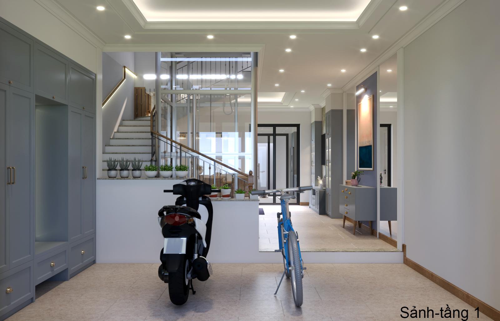 Thiết kế nội thất Nhà Mặt Phố tại Hà Nội Nhà phố Kim Giang 1630573751 7