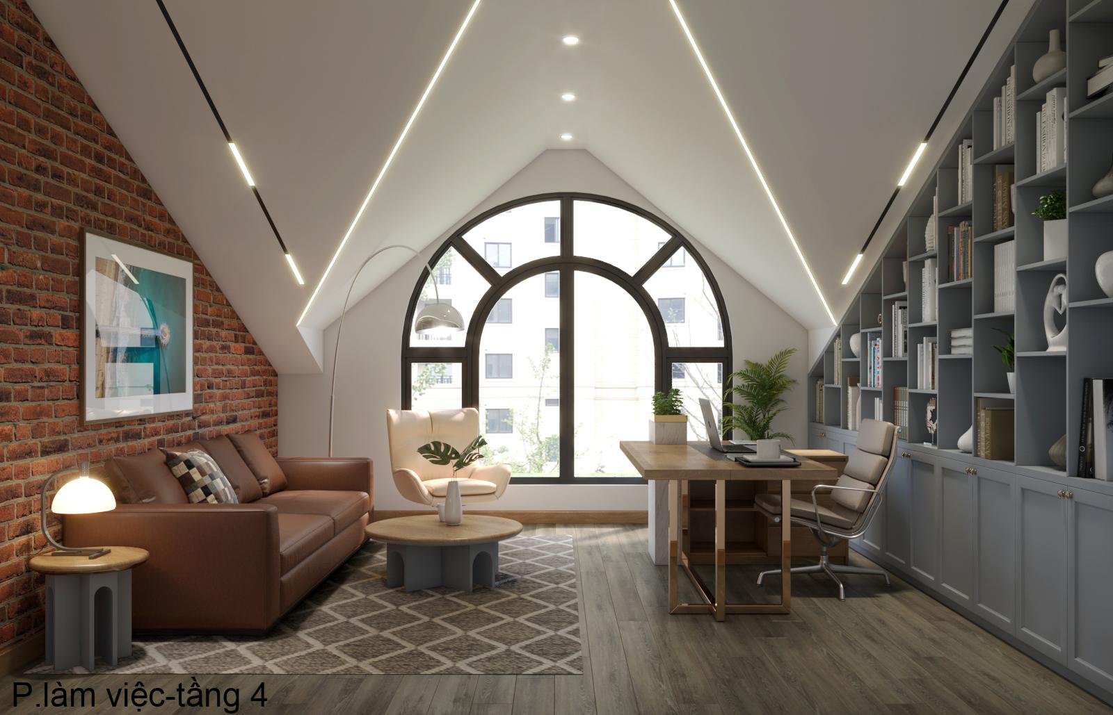 Thiết kế nội thất Nhà Mặt Phố tại Hà Nội Nhà phố Kim Giang 1630573752 9