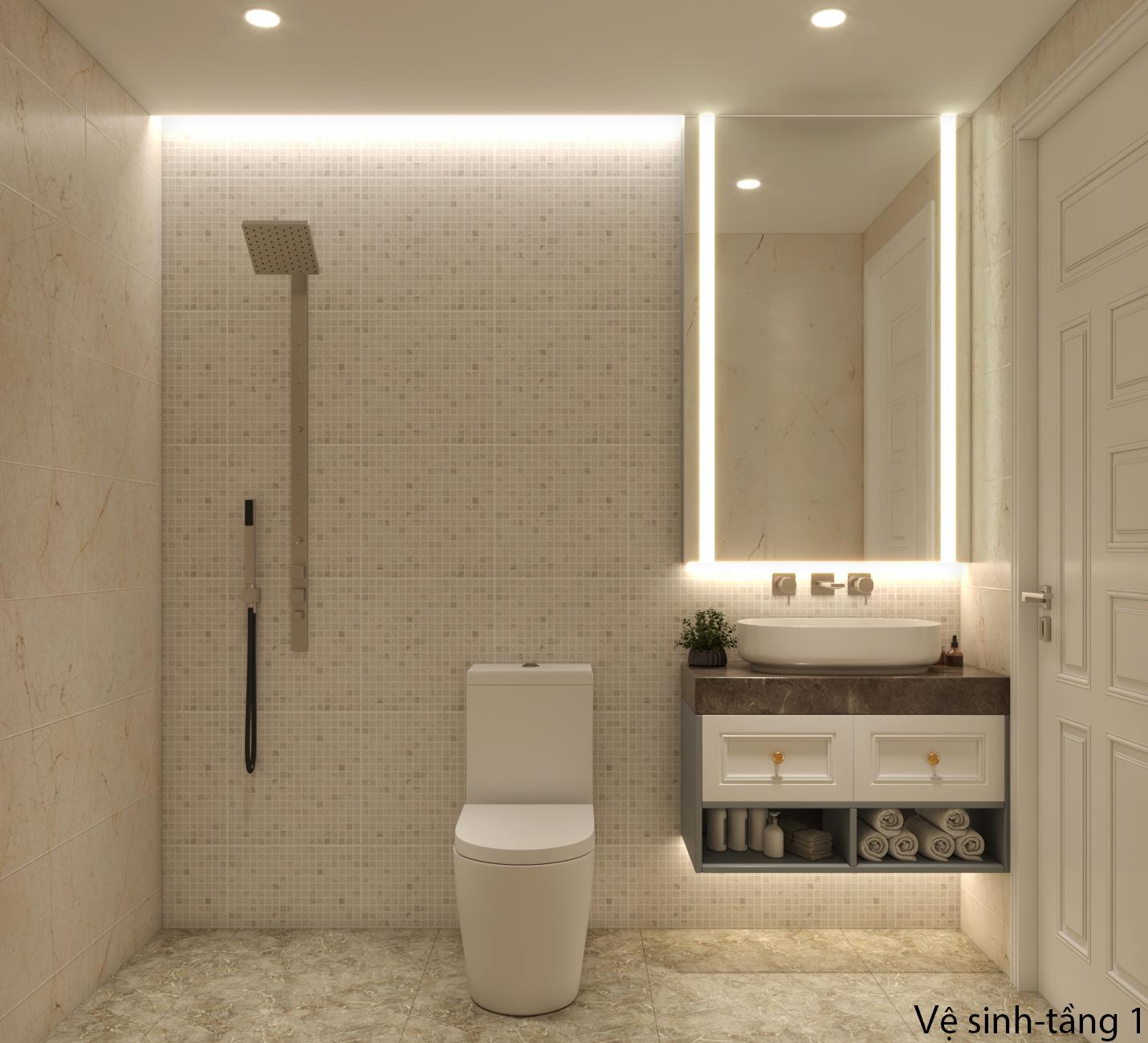 Thiết kế nội thất Nhà Mặt Phố tại Hà Nội Nhà phố Kim Giang 1630573754 15