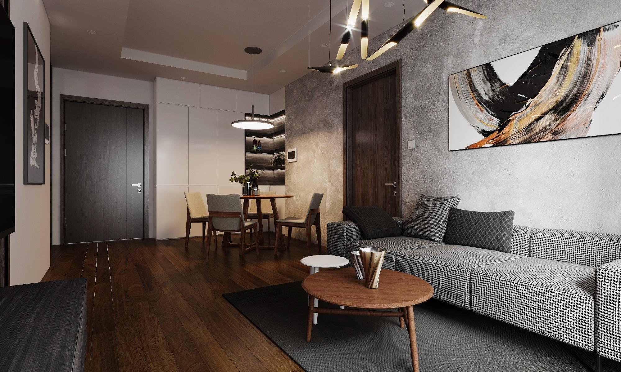 Thiết kế nội thất Chung Cư tại Hà Nội CHỊ GIANG 1593604988 3