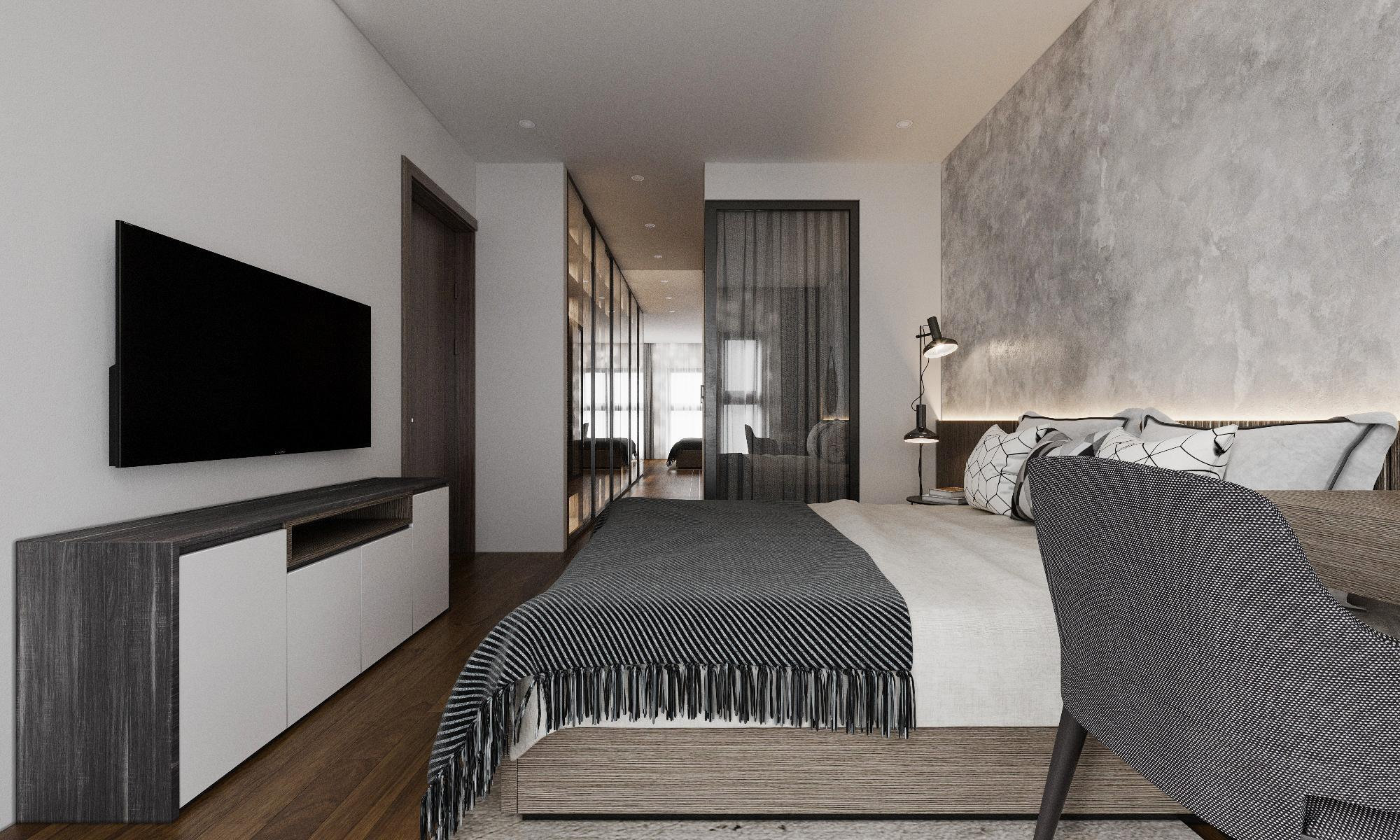 Thiết kế nội thất Chung Cư tại Hà Nội CHỊ GIANG 1593604988 6