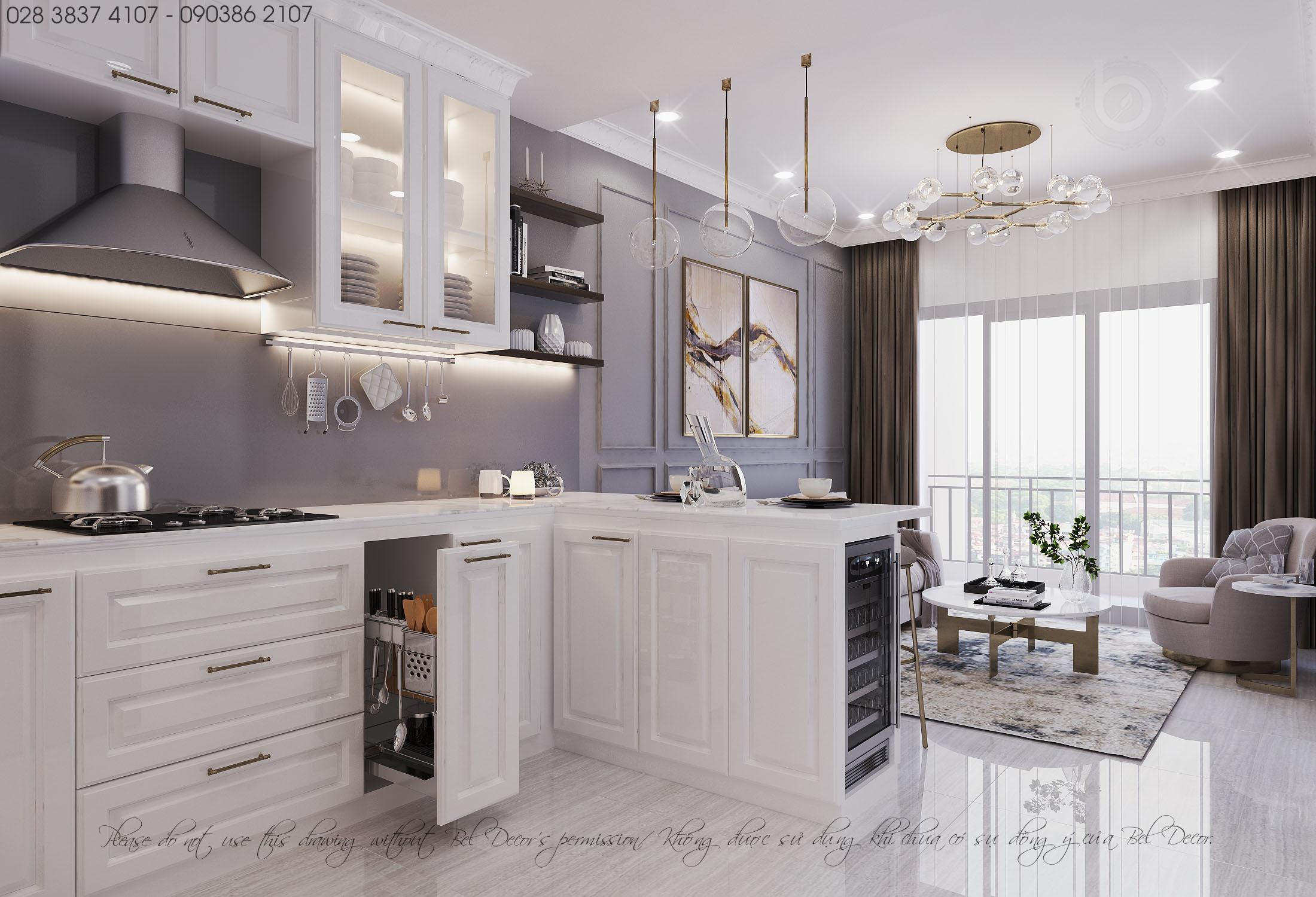 thiết kế nội thất chung cư tại Hồ Chí Minh THIẾT KẾ NỘI THẤT CĂN HỘ (HO1895) 0 1557475034