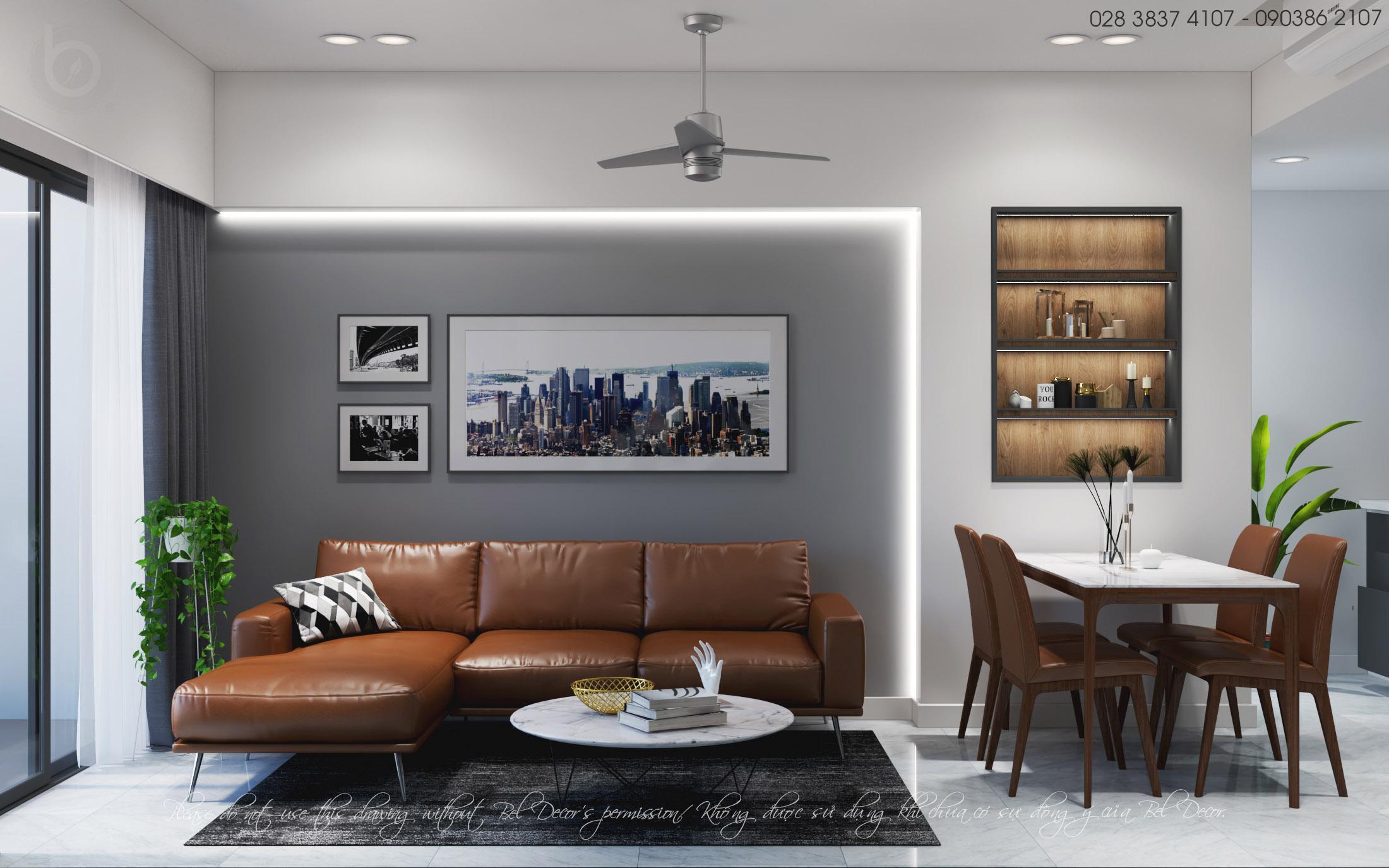 thiết kế nội thất chung cư tại Hồ Chí Minh THIẾT KẾ NỘI THẤT CĂN HỘ (HO1926) 0 1562655943