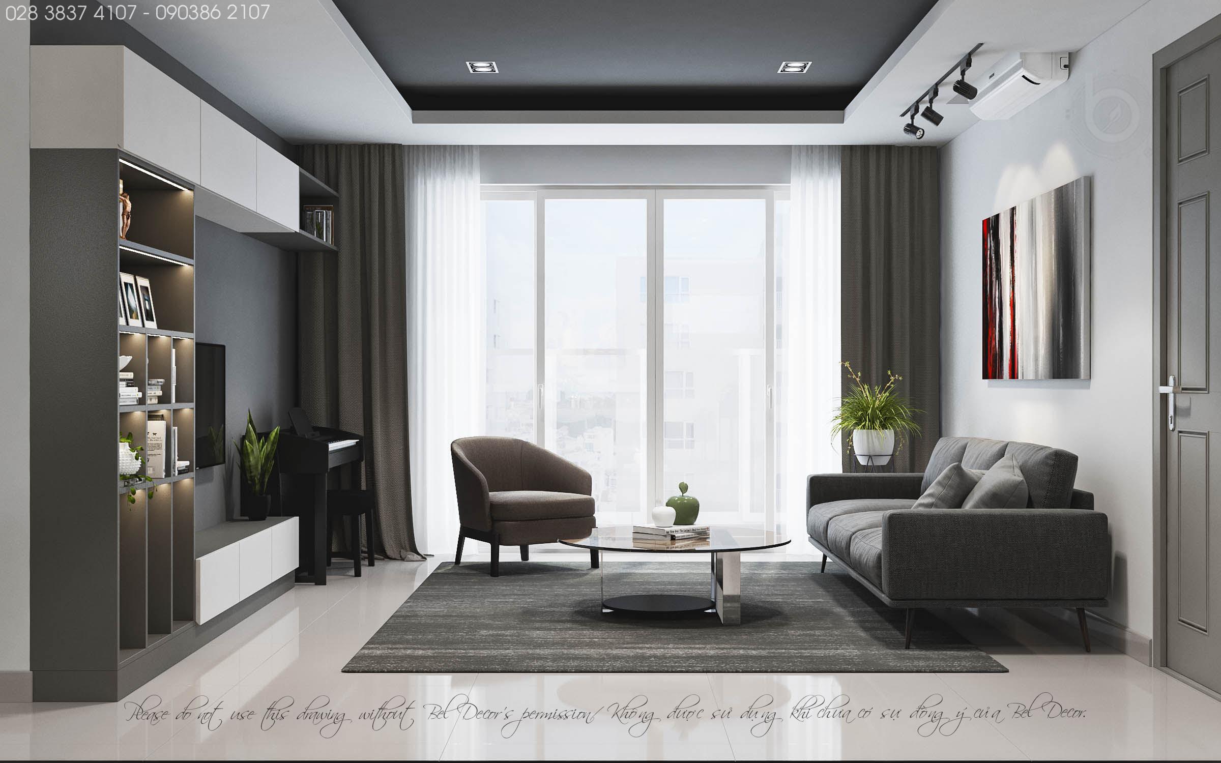 thiết kế nội thất chung cư tại Hồ Chí Minh THIẾT KẾ NỘI THẤT CĂN HỘ (HO1902) 1 1560306005