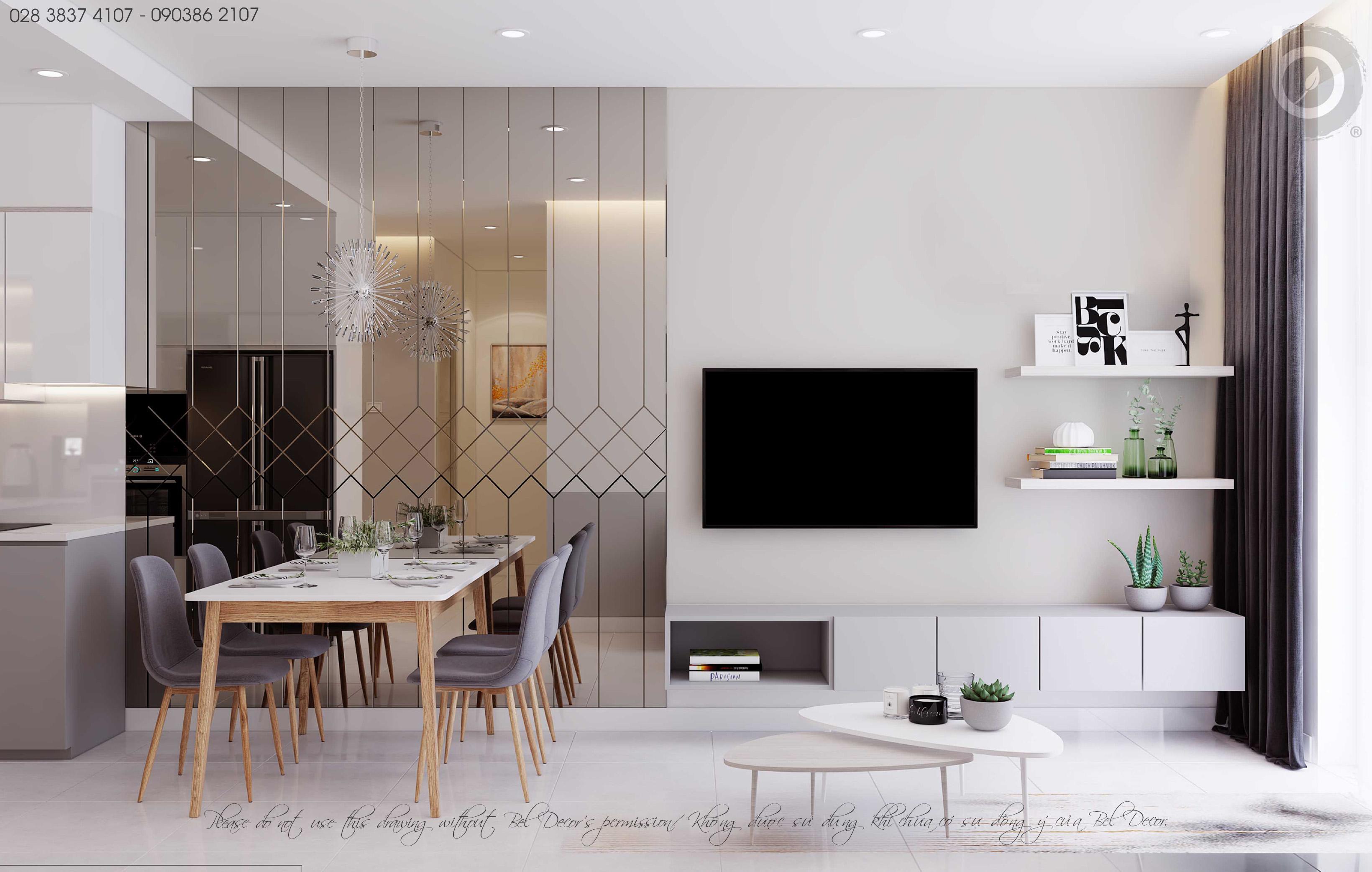 thiết kế nội thất chung cư tại Hồ Chí Minh THIẾT KẾ NỘI THẤT CĂN HỘ (HO1893) 2 1562656157