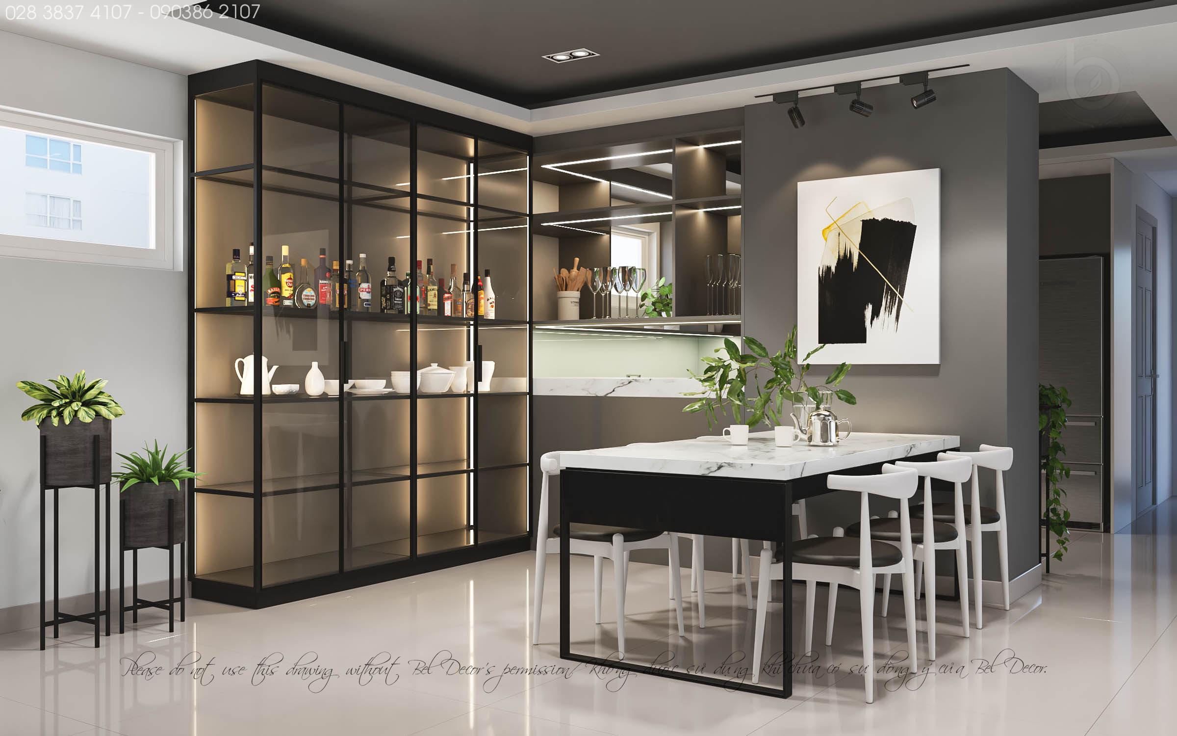 thiết kế nội thất chung cư tại Hồ Chí Minh THIẾT KẾ NỘI THẤT CĂN HỘ (HO1902) 3 1560306006
