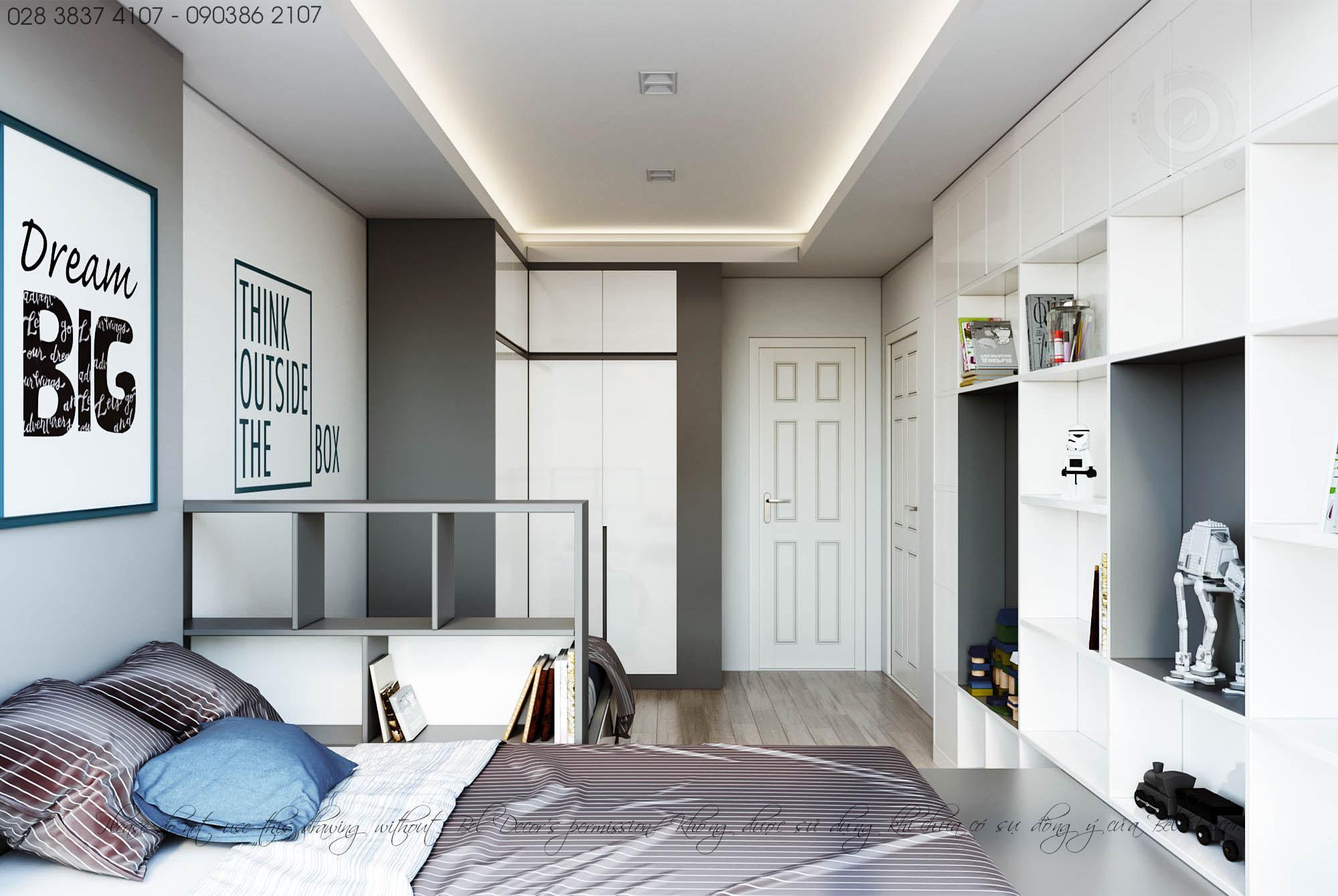 thiết kế nội thất chung cư tại Hồ Chí Minh THIẾT KẾ NỘI THẤT CĂN HỘ (HO1902) 5 1560306006