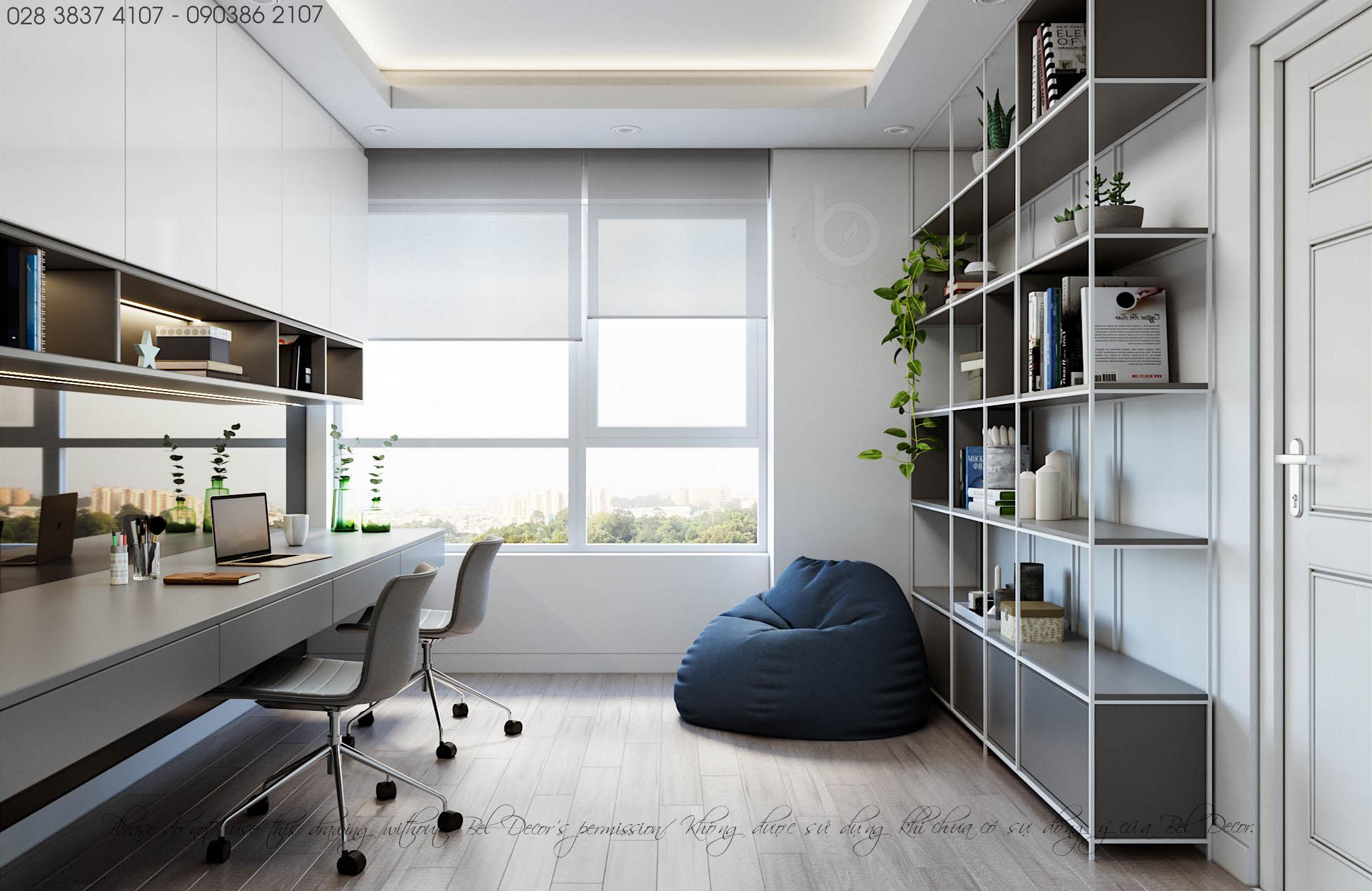 thiết kế nội thất chung cư tại Hồ Chí Minh THIẾT KẾ NỘI THẤT CĂN HỘ (HO1902) 7 1560306007