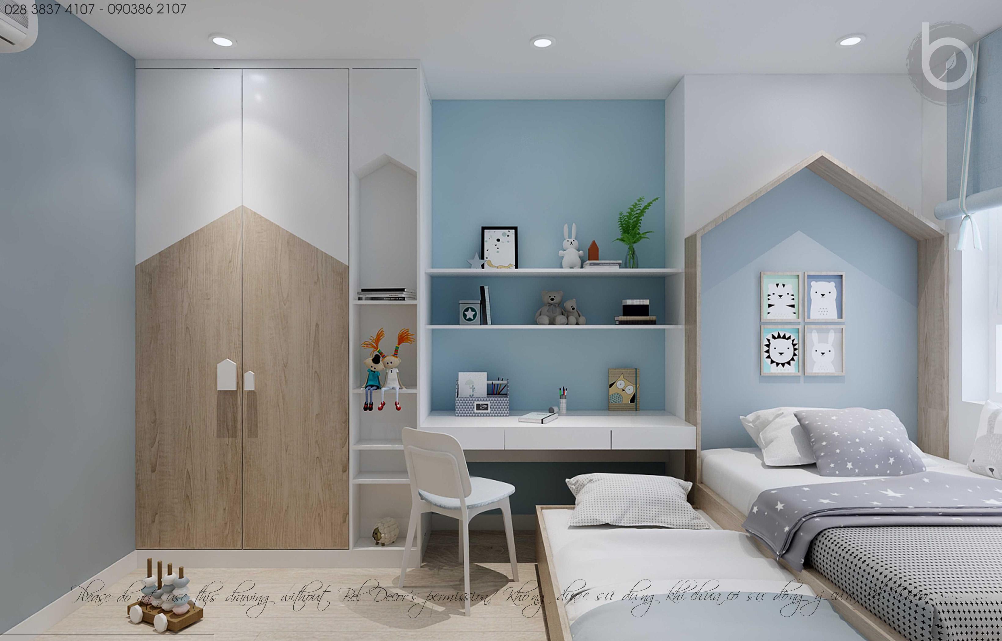 thiết kế nội thất chung cư tại Hồ Chí Minh THIẾT KẾ NỘI THẤT CĂN HỘ (HO1893) 8 1562656160