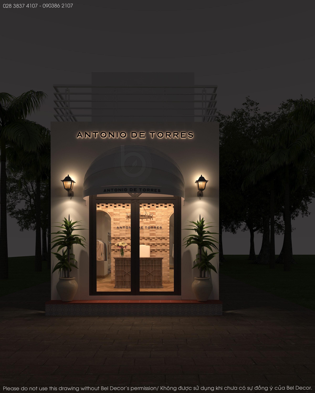 thiết kế nội thất Shop tại Hồ Chí Minh Thiết kế nội - ngoại thất Fashion Shop Antonio 11 1537428715