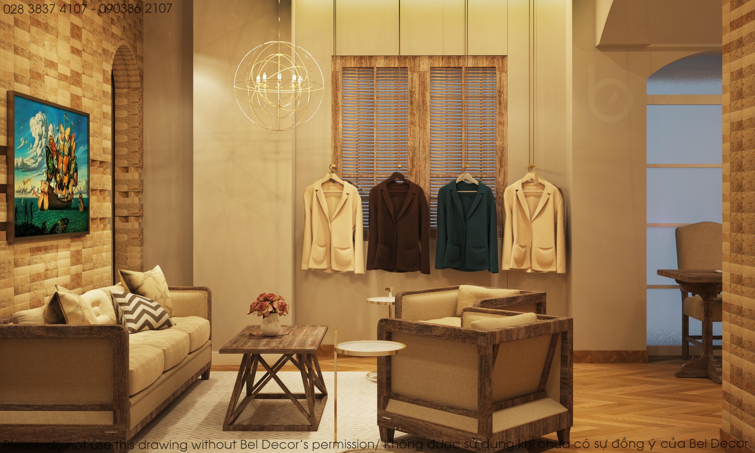 thiết kế nội thất Shop tại Hồ Chí Minh Thiết kế nội - ngoại thất Fashion Shop Antonio 3 1537428731