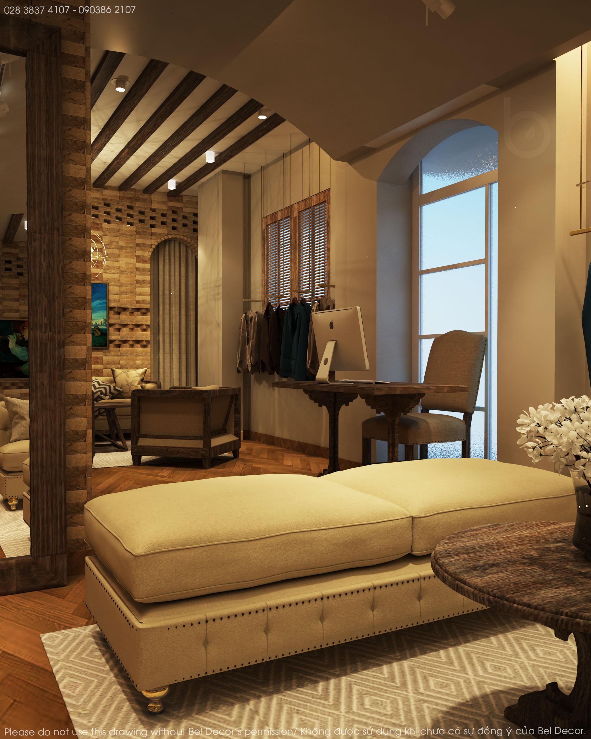 thiết kế nội thất Shop tại Hồ Chí Minh Thiết kế nội - ngoại thất Fashion Shop Antonio 9 1537428720