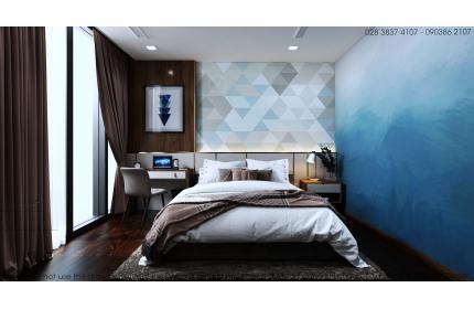 Thiết kế nội - ngoại thất căn hộ HO1877