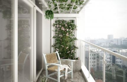 Thiết kế nội - ngoại thất căn hộ HO1872