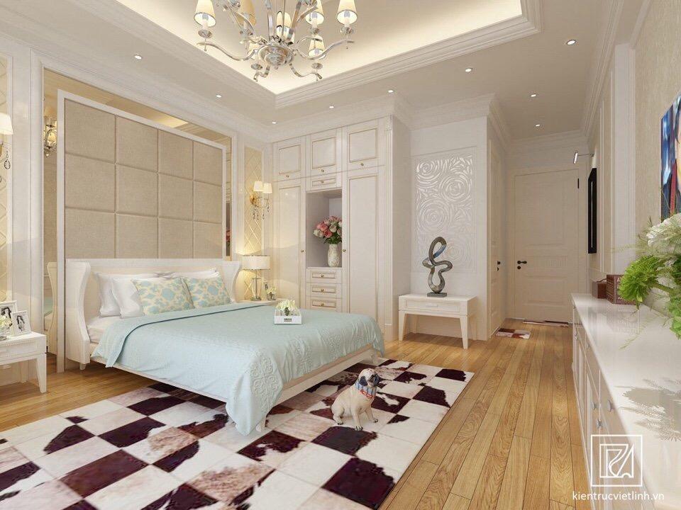 thiết kế Nhà Mặt Phố 5 tầng tại Bắc Giang Nhà lô phố tân cổ điển - nhà lô phố hiện đại 3 tầng 6 1548761498