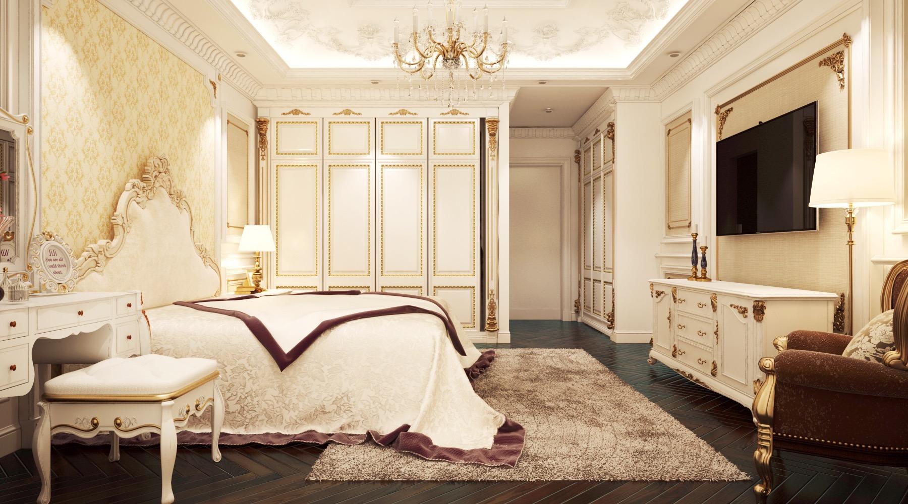 thiết kế nội thất Nhà Mặt Phố tại Bắc Giang Phòng khách cuối năm 4 1549032264