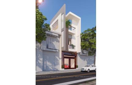 Nhà lô phố tân cổ điển - nhà lô phố hiện đại 3 tầng