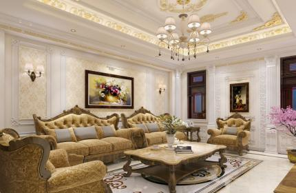 Phòng khách cuối năm