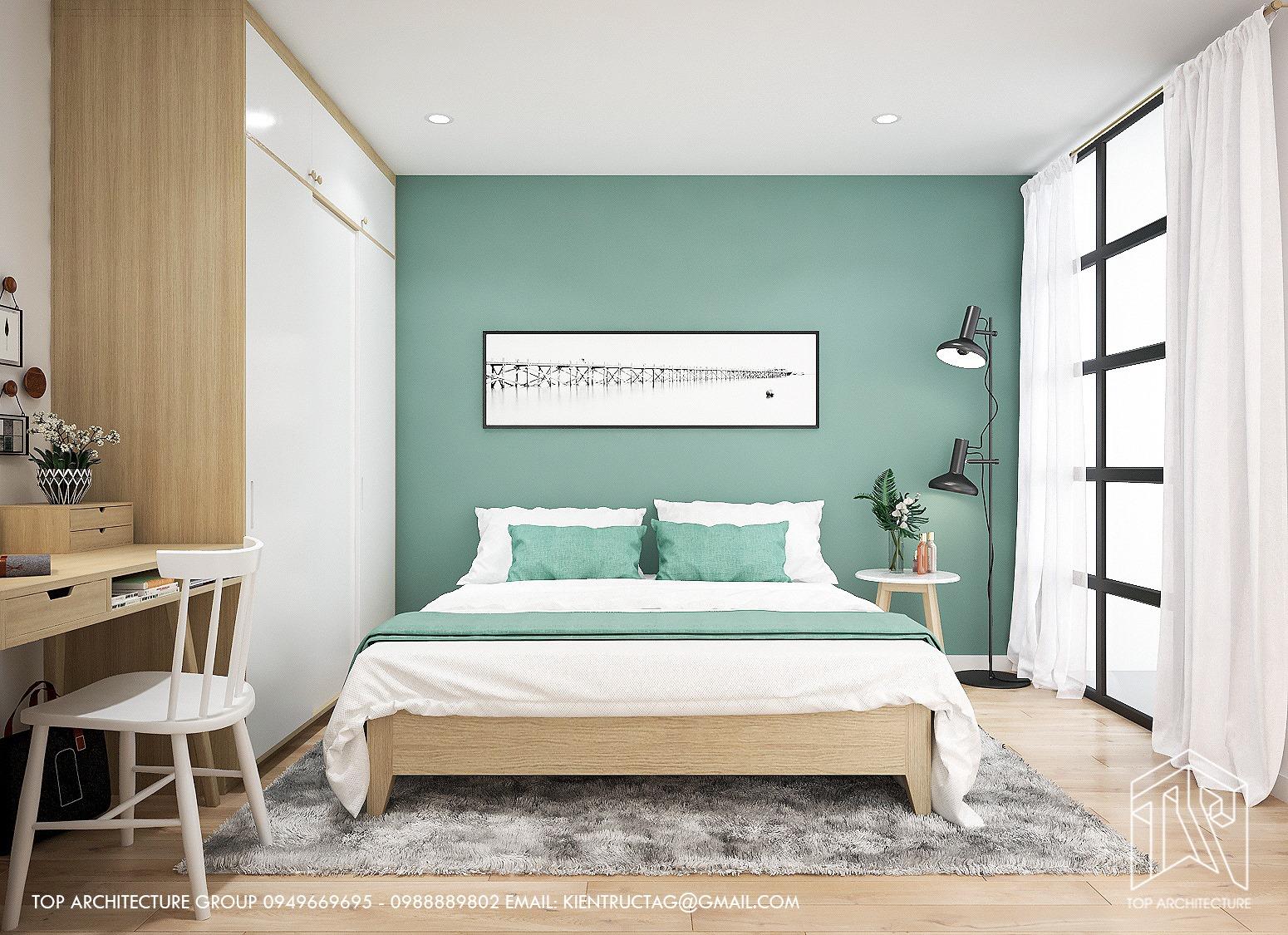 Thiết kế nội thất Chung Cư tại Hà Nội Chung cư 2 ngủ GreenBay 1626186170 6