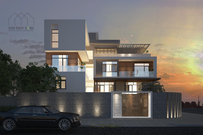 thiết kế Nội thất Biệt Thự 4 tầng Biệt thự Đoàn Khuê - Đa Phước 8 30