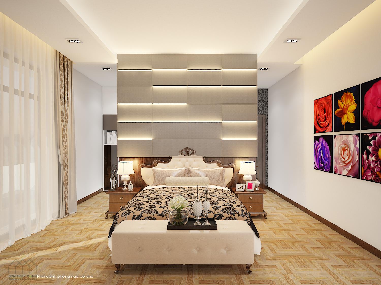 thiết kế Nội thất Biệt Thự 4 tầng Biệt thự Đoàn Khuê - Đa Phước 8 40